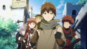 Grimgar Ashes and Illusions Review the whole original party group members minus one (blog)