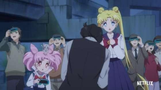 Pretty Guardians Sailor Moon Eternal The Movies Usagi and Chibiusa Serenity, Little Serenity