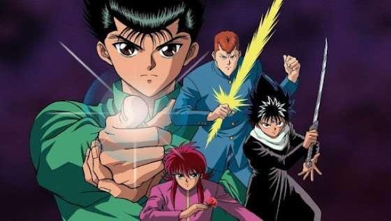 Yuu☆Yuu☆Hakusho main cast 90s anime