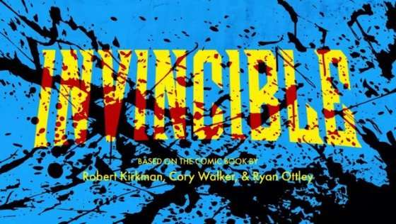 Invincible-TV-series-cool-title-card-Is-Invincible-worth-watching-review