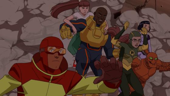 Teen_Team_arrive_Invincible_episode_5