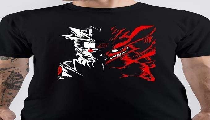 anime tshirt Naruto-Anime-T-Shirt