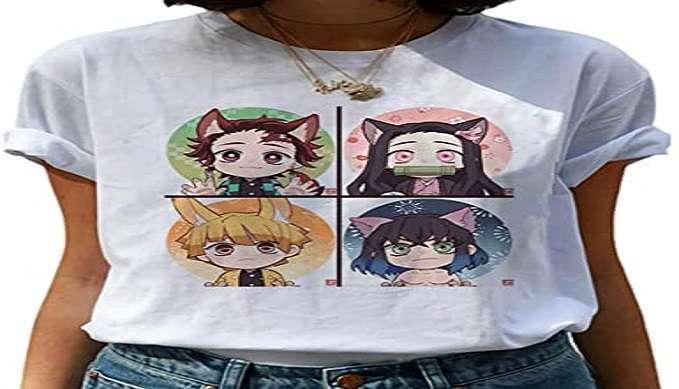 anime tshirt demon slayer