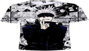 anime tshirt jujutsu kaisen