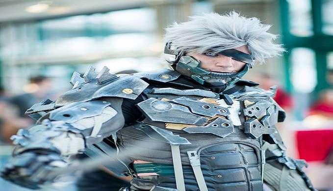 raiden metal solid cosplayer
